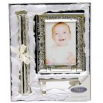 """My Christening Day"" Photo Frame & Christening Certficate Stand"